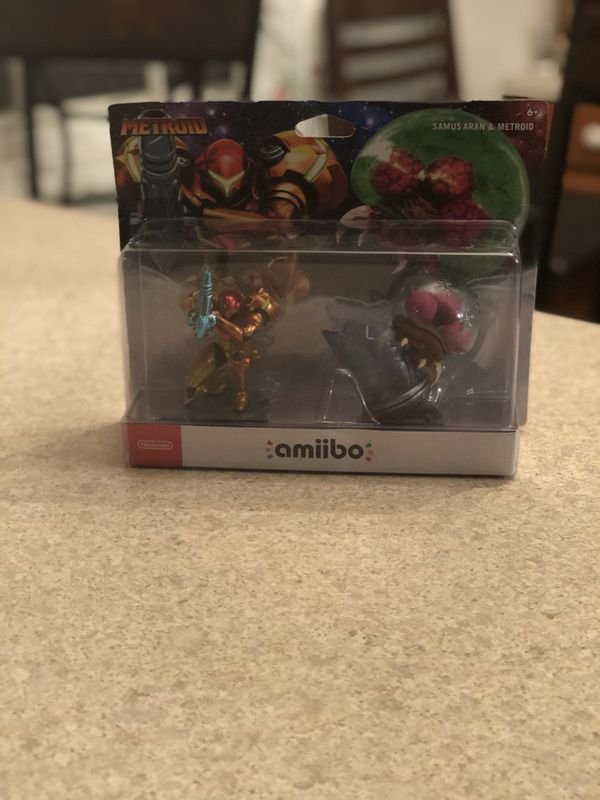 Metroid Amiibos