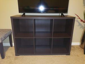 TV stand / cube organizer shelf for Sale in Minneapolis, MN