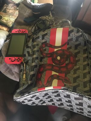 Nintendo switch & reason bag for Sale in Gaithersburg, MD