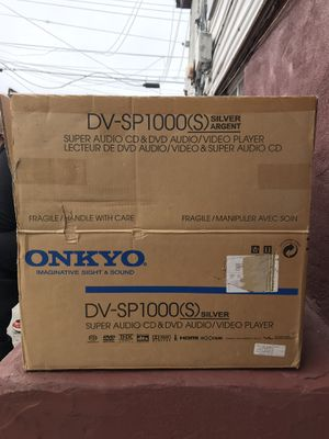 Onkyo DV-SP1000(s) for Sale in Queens, NY