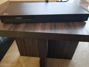 DVD player - LG ultra HD blu-ray player 4K for Sale in MONTGOMRY VLG, MD