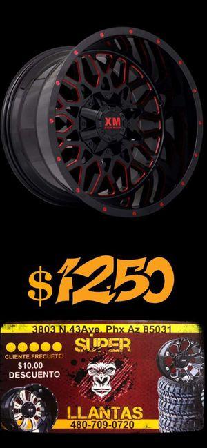 20x10 RINES Y LLANTAS for Sale in Phoenix, AZ