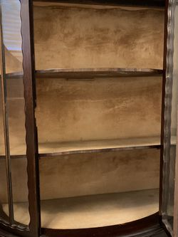 """Vintage Book Case 40"""" By 48"""" Tall . / One Of The Glasses Needs To Be Replaced. Located In Granada Hills for Sale in Los Angeles,  CA"""