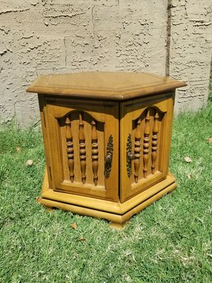 Vintage Side Table / Center Table / Coffee Table With Storage Space for Sale in Phoenix, AZ