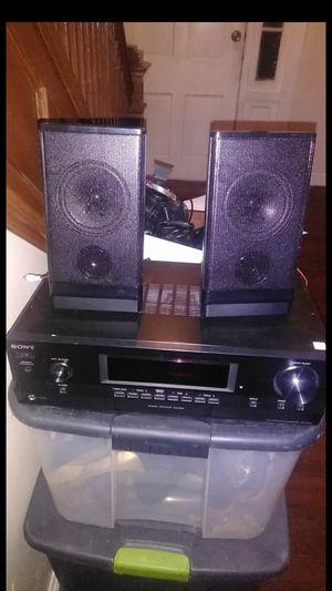Sony audio receiver for Sale in Lanham, MD