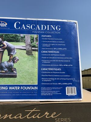 Water fountain statue for Sale in Bakersfield, CA