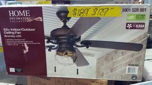 Home decorators 52 inch indoor / outdoor ceiling fan for Sale in Phoenix, AZ
