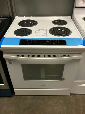 NEW! Whirlpool White Electric Coil Top Range w/ 1 Yr Factory Warranty🌟 for Sale in Gilbert, AZ
