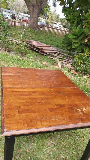 Wooden kitchen table for Sale in MAGNOLIA SQUARE, FL