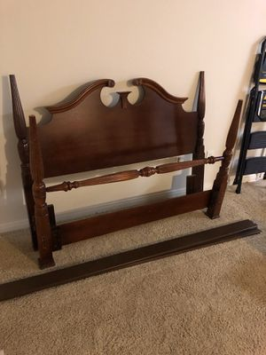 Queen Sized Wooden Bed Frame - Great Condition for Sale in Austin, TX