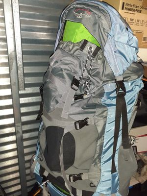Osprey Ariel 65 Backpack Thermarest Pad Husky Headlamp Sleeping Bag camping hiking for Sale in Miami, FL