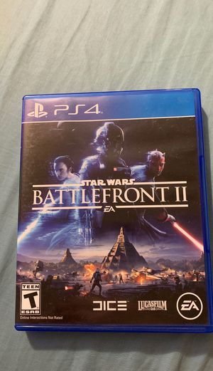 PS4 Star Wars Battlefront ll for Sale in Palmdale, CA