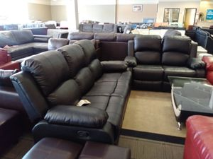 Black Reclining Sofa & Loveseat for Sale in Phoenix, AZ