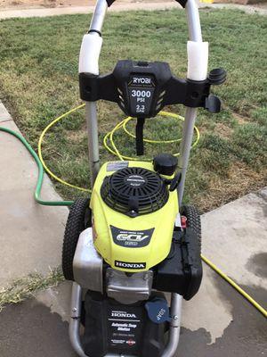 Ryobi-honda pressure washer psi 3000 2.3 gpm for Sale in Escondido, CA