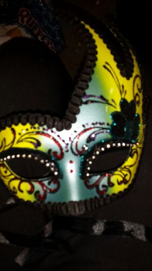 Hand painted masks made in Italy for Sale in Tacoma, WA
