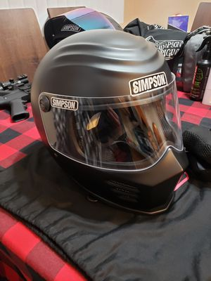 Simpson Outlaw Bandit Motorcycle Helmet for Sale in Colton, CA