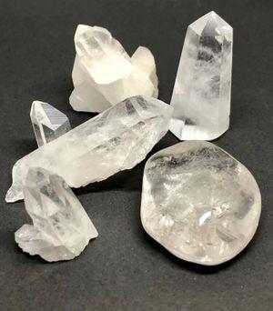 Quartz Crystal Stones 5pcs Brazil for Sale in Queen Creek, AZ