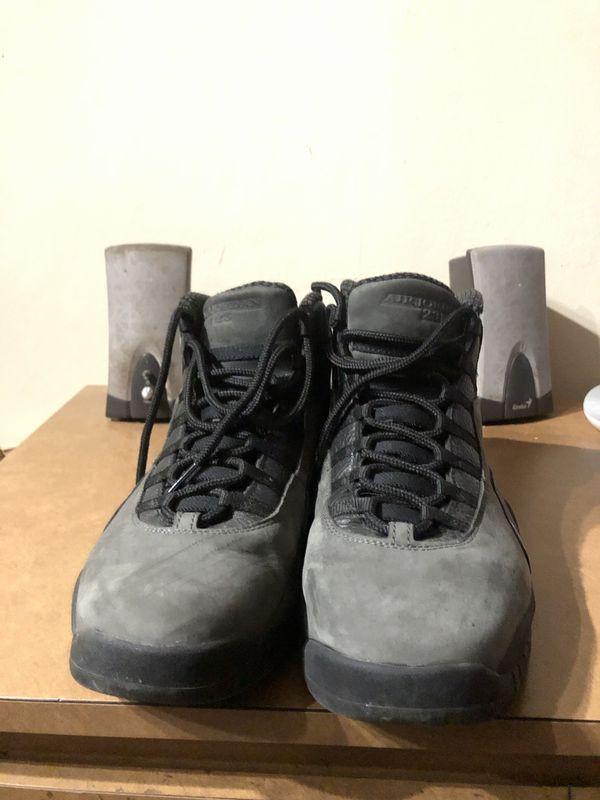 "Sz 13 Air Jordan Retro 10 ""Dark Shadow"""