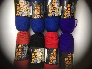 Lot of Vonnel 100% Acrylic 4ply Luxury Knitting Yarn Love Knit for Sale in Sumner, WA