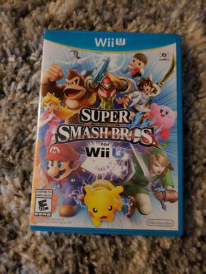 Super Smash Bros for Wii U Nintendo for Sale in Boca Raton, FL