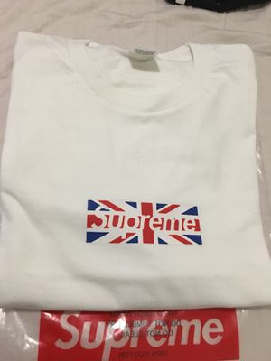 Supreme England Box Logo Tee for Sale in Miami, FL