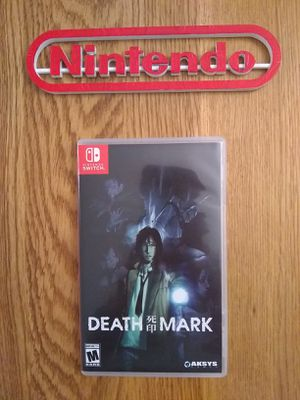 SWITCH DEATH MARK EMPTY CASE, NO GAME! for Sale in Shippensburg, PA