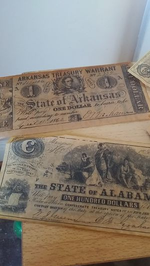 Old confederate currency for Sale in Toledo, OH
