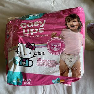 Pampers Easy ups Hello kitty for Sale in Los Angeles, CA