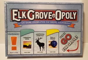 Elk GroveOpoly Board Game for Sale in North Highlands, CA