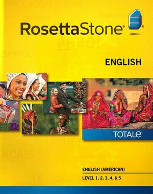 Copia de Rosetta stone English American complete for Sale in Tampa, FL