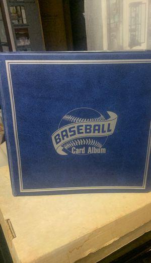 Baseball Card Album 3 Ring Binder for Sale in Seattle, WA