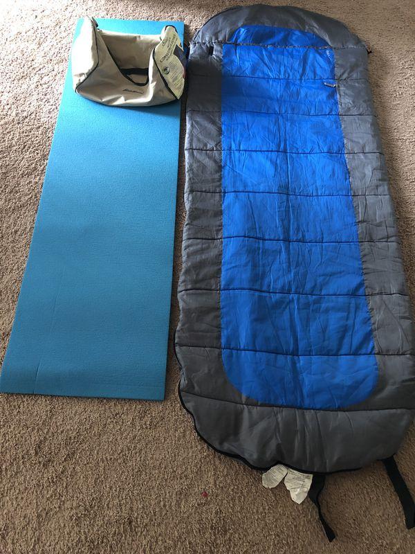 Sleeping bag with Mat