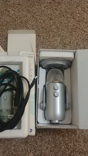BLUE-Yeti USB mic for Sale in Long Beach, CA