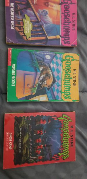Goosebumps books for Sale in South Windsor, CT