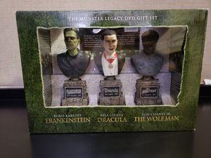 The Monster Legacy Gift Set: (Frankenstein / Dracula / The Wolf Man) DVD'S GIFT SET for Sale in Pembroke Pines, FL