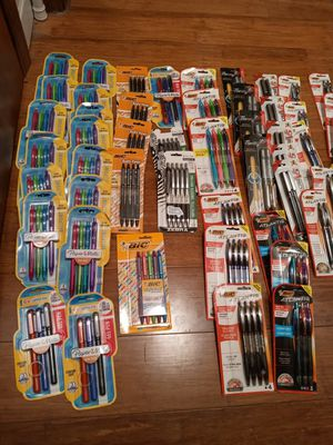 74 packs of new pens & markers for Sale in Roseville, MI