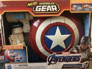 Marvel Avengers Nerf Assembler Gear captain America for Sale in Miami, FL