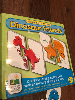 Dinosaur friends matching Puzzle sets - from the learning journey - Preschool - homeschool for Sale in AZ, US