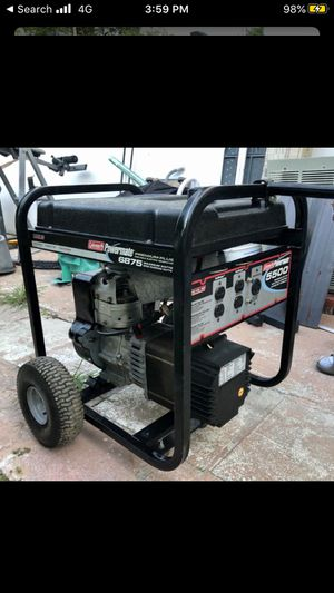 MUST SEE GENERATOR- 6875 Maximum WATTS [Brand: Coleman Powermate] $450 FIRM/NO OFFERS [Only USED For 1/2 HOUR] for Sale in Miami, FL