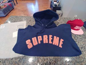 Supreme Chenille Arc Logo Hoodie Sweatshirt XL for Sale in Longview, WA