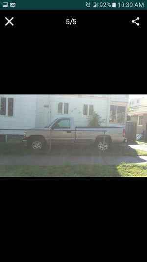 2000 Chevy Silverado with plow for swap for a Van for Sale in Medford, MA