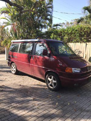 VW Eurovan Weekender Pop Top Camper Van 2001 for Sale in Miami Beach, FL