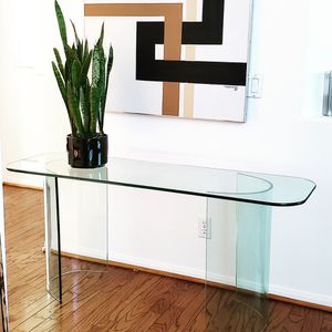 Vintage glass console table for Sale in San Diego, CA