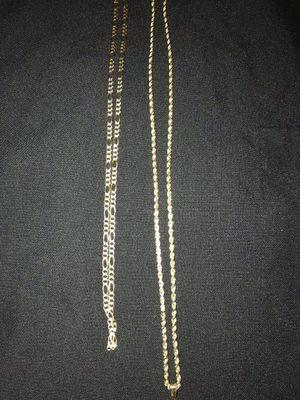 14k figaro chain selling ASAP for Sale in San Fernando, CA