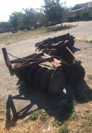 Roemer 3 point tractor disc farm ranch 7ft long almost 6 wide implement for Sale in Tracy, CA