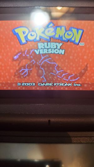Authenit POKEMON RUBY WITH NEW BATTERY! for Sale in Riverside, CA