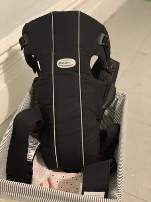 Baby bjorn baby carrier (black) for Sale, used for sale  New York, NY