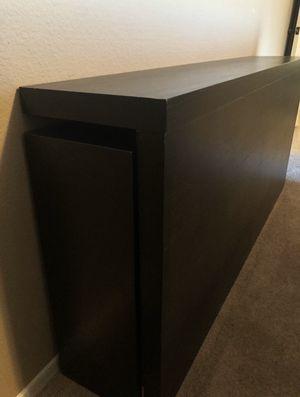 "Queen size 3pc Headboard/Bookshelf (IKEA ""Malm"") for Sale in Chandler, AZ"
