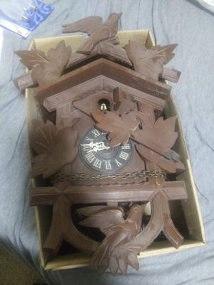 Antique cuckoo clock for Sale in Salina, KS