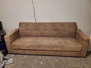 Khaki Futon. for Sale in El Paso, TX